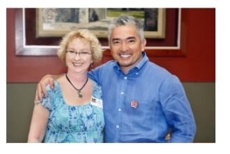 Cesar Millan and Val Heart Love Dogs