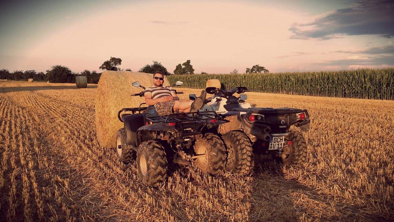 ATVs on farms