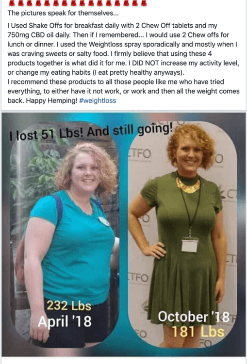 CBD Oil Helps with Weight Loss