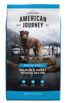 American Journey Salmon Sweet Potato dog food