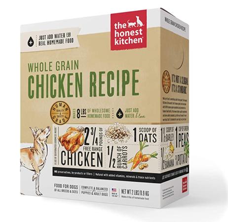 Honest Kitchen WG Chicken dog food