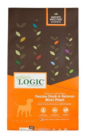 Natures Logic Duck & Salmon Dog Food